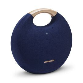 Onyx Studio 5 - Blue - Portable Bluetooth Speaker - Hero