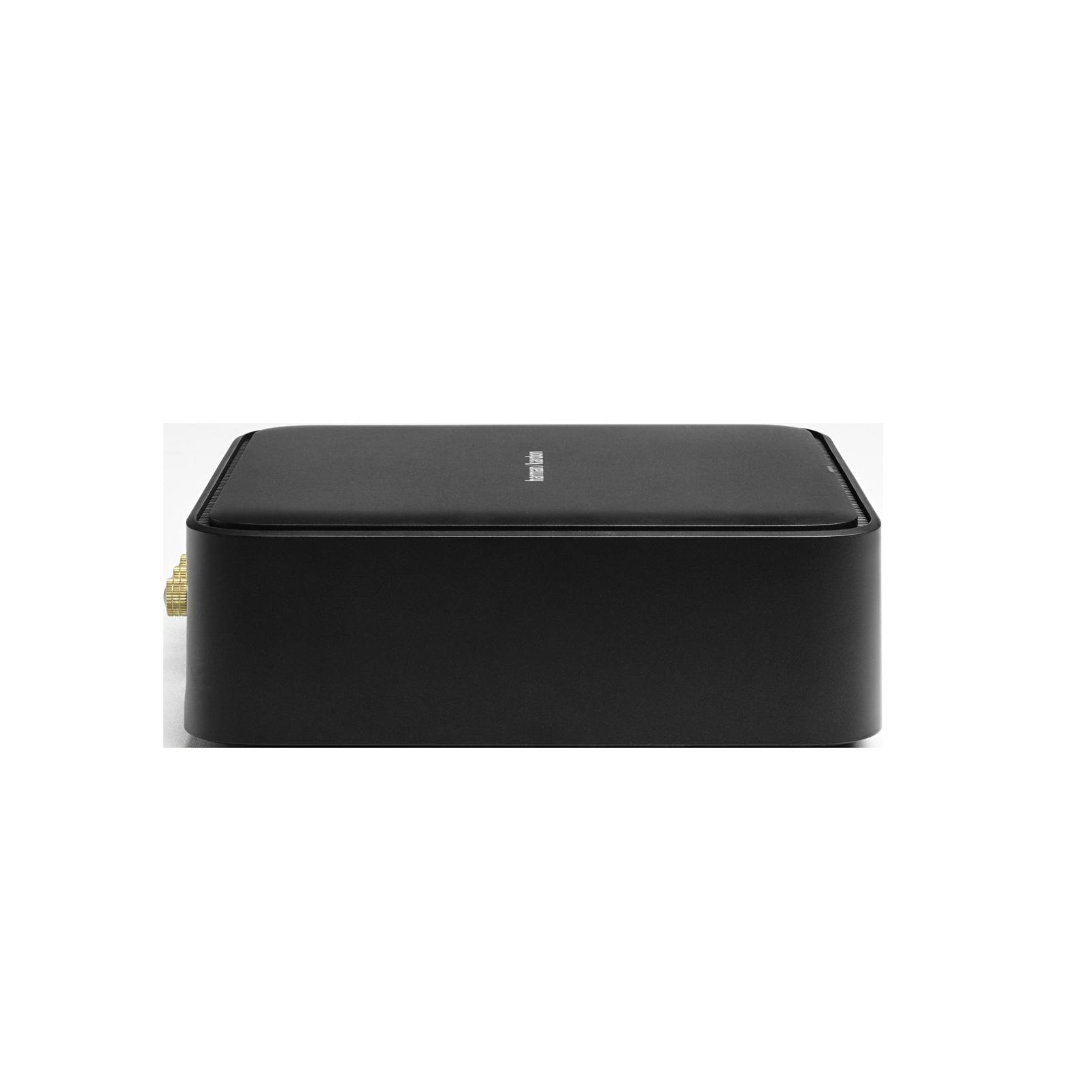Harman Kardon Citation Amp - Black - High-power, wireless streaming stereo amplifier - Left