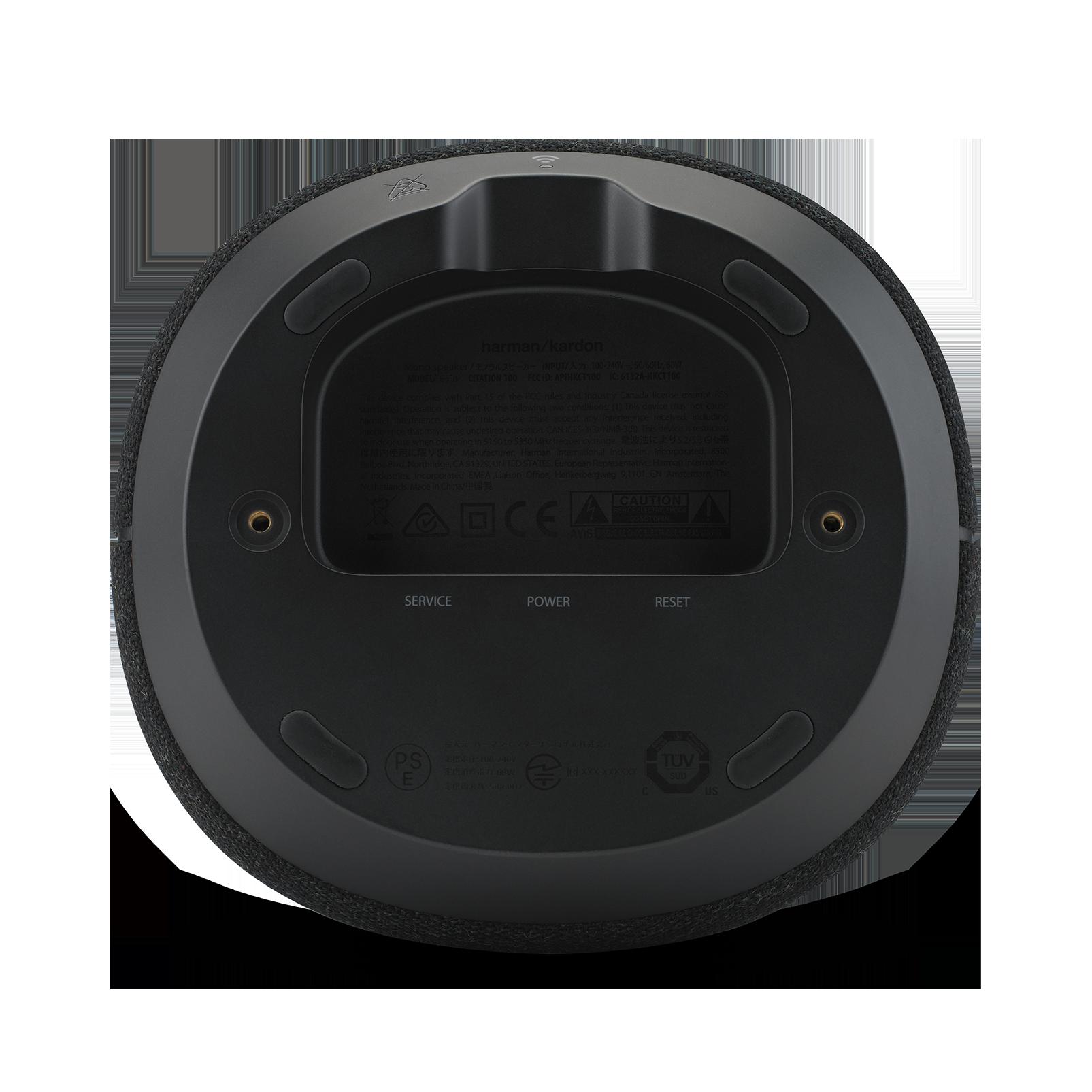 Harman Kardon Citation 100 - Black - The smallest, smartest home speaker with impactful sound - Detailshot 3
