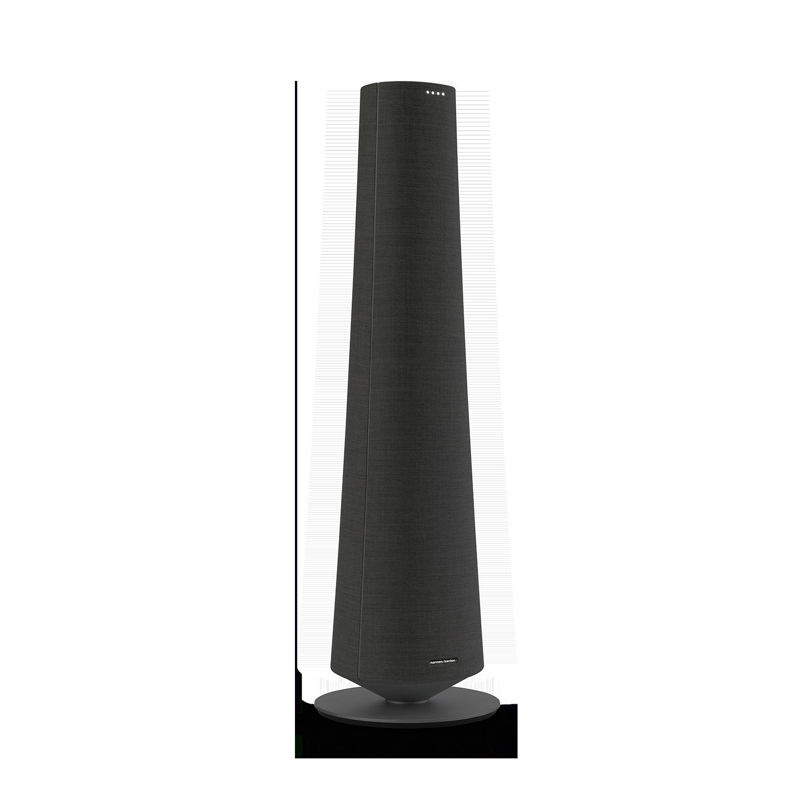 Harman Kardon Citation Tower - Black - Smart Premium Floorstanding Speaker that delivers an impactful performance - Detailshot 2