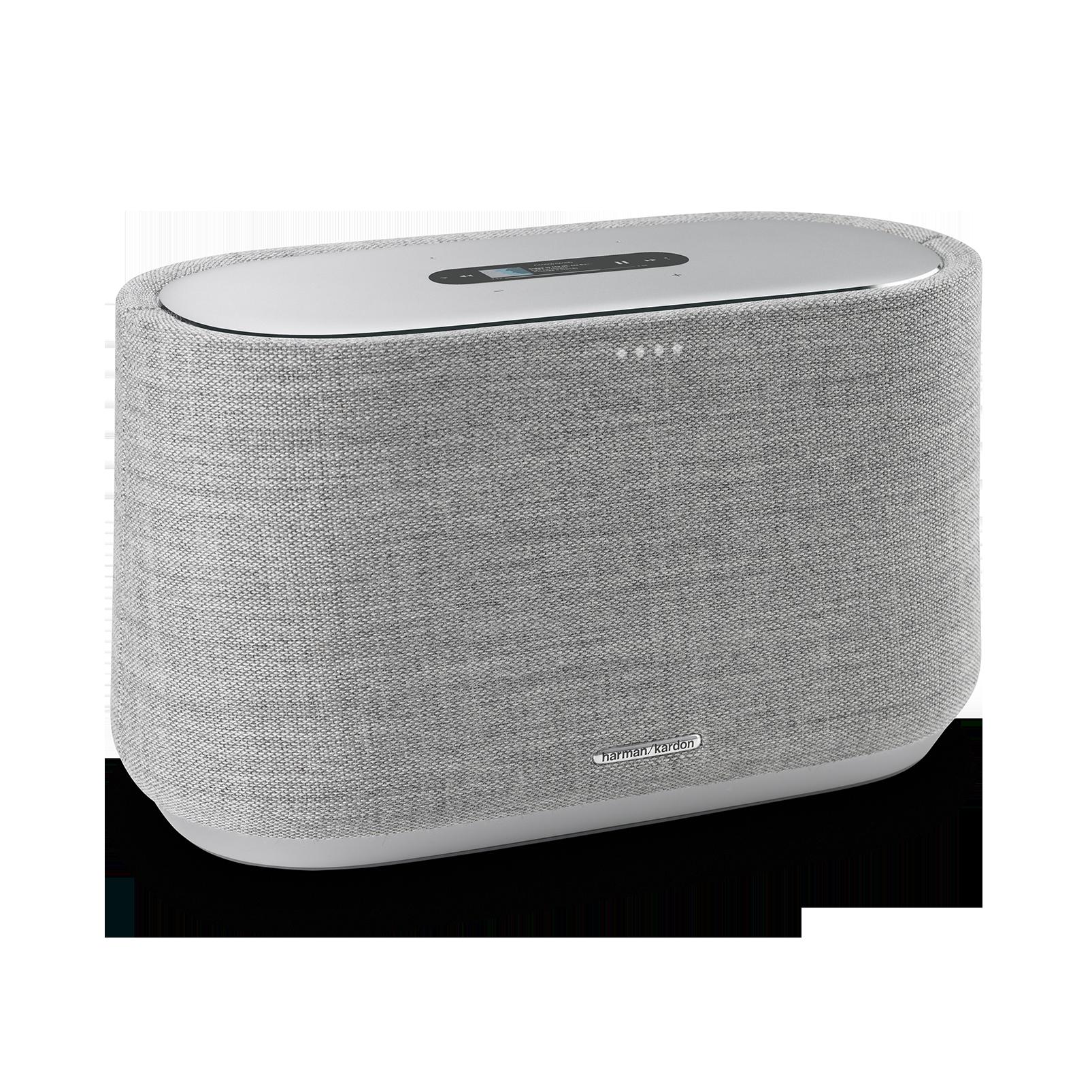 Harman Kardon Citation 300 - Grey - The medium-size smart home speaker with award winning design - Hero