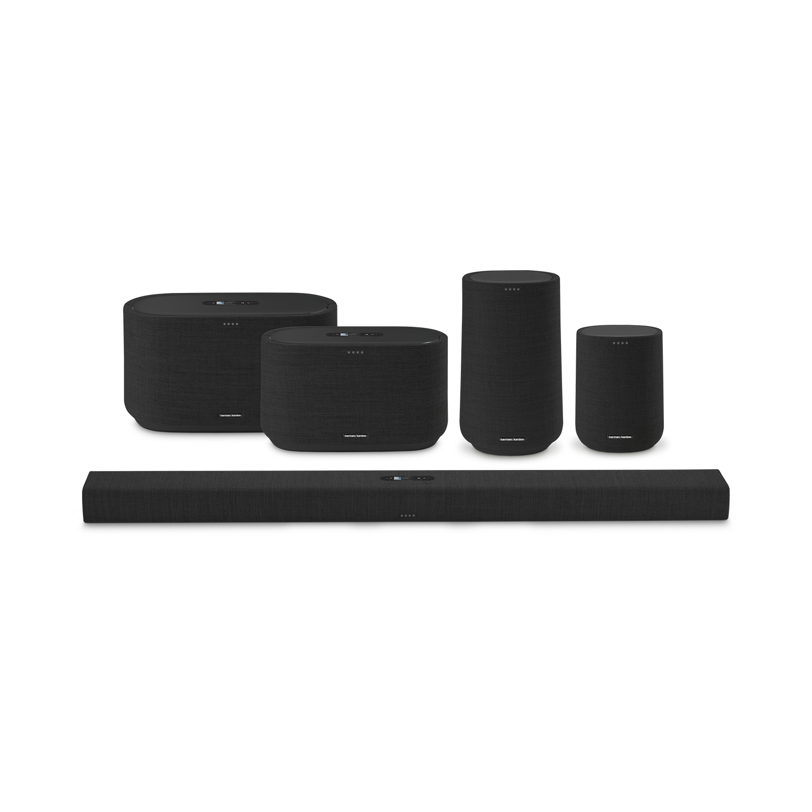 Harman Kardon Citation 100 MKII - Black - Bring rich wireless sound to any space with the smart and compact Harman Kardon Citation 100 mkII. Its innovative features include AirPlay, Chromecast built-in and the Google Assistant. - Detailshot 5